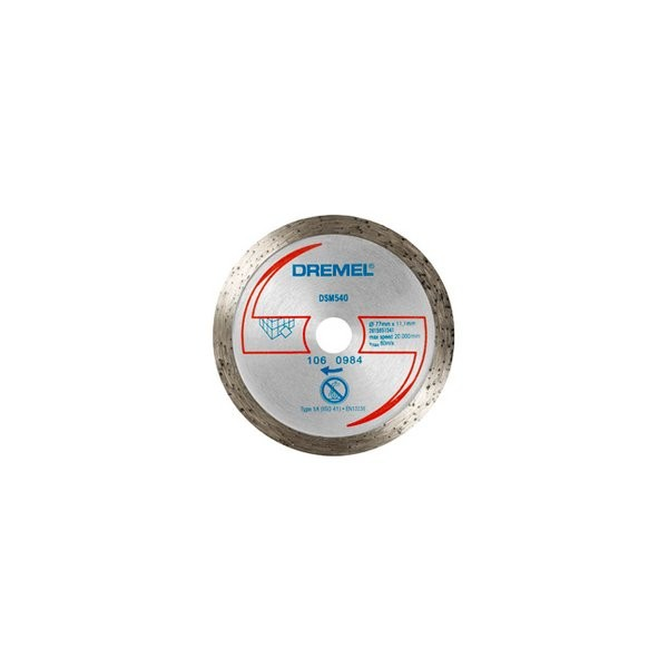 Dremel dsm20 disco diamantato per taglio di piastrelle - Disco taglio piastrelle ...