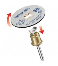 DREMEL EZ SPEEDCLIC: METAL CUTTING WHEELS 5-PACK. (SC456) BLISTER OF 5 PCS.
