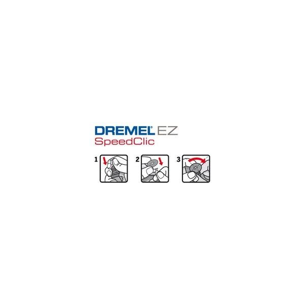 Dremel SC476 Ez Speedclic Plastica Taglio Ruote Confezione di 5-2615S476JB