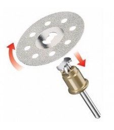 DREMEL EZ SPEEDCLIC: DIAMOND CUTTING WHEEL. (SC545)