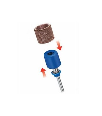 DREMEL EZ SPEEDCLIC: SANDING MANDREL & SANDING BANDS (SC407) BLISTER OF 3 PCS.