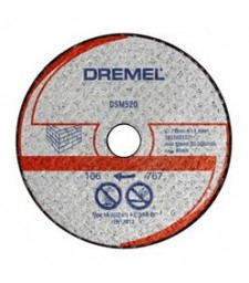 DREMEL DSM20 MASONRY CUTTING WHEEL (DSM520) BLISTER OF 2 PCS.